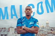Brazilian winger Malcom completes €45 million switch to Zenit