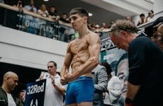 Mick Conlan ripped and ready as he weighs in for outdoor headliner in Belfast
