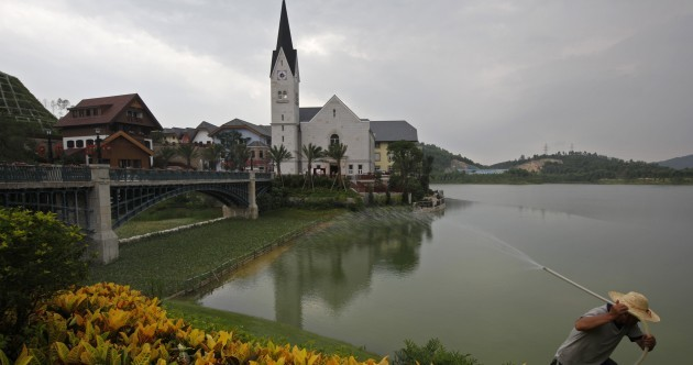 In pics: The Austrian alpine village... that China built