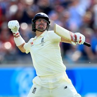 Burns' unbeaten century puts England back in the driving seat
