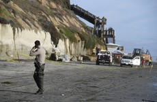 Three dead as sea cliff falls on California beachgoers