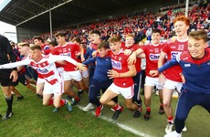 'We talk about the snowflake generation. The dedication, the commitment - I'm proud to be a Cork man today'