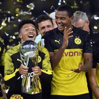 Sancho shines as Dortmund deny Bayern in German Super Cup