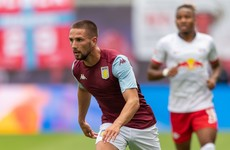 Ireland's Hourihane bangs in two stunning free-kicks ahead of Villa's Premier League return