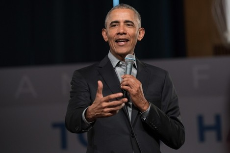 Obama took aim at leaders who stoke racism.