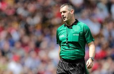 Here are the referees for this year's All-Ireland hurling finals