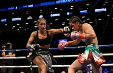 'She's the biggest puncher I've ever seen in women's boxing, and Katie's probably the best pure boxer'