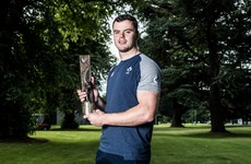 James Ryan wins Rugby Writers of Ireland Player of the Year award