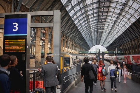 File photo. You won't be able to use an Interrail pass in the UK from 2020.
