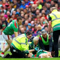 Doherty out for the season after suffering ACL injury against Donegal