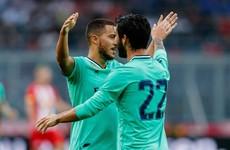 Eden Hazard opens Real Madrid goal account in stunning fashion