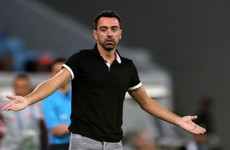 Barcelona great Xavi frustrated after coaching debut