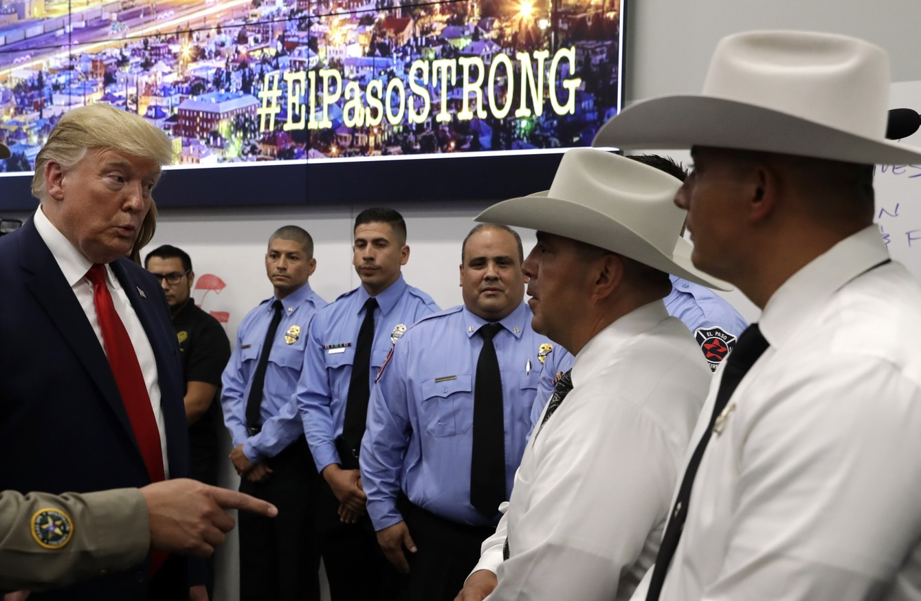 5d29fe699 Trump says he had 'amazing day' after meeting victims of latest mass ...