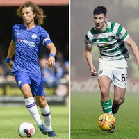 Arsenal agree fee for Luiz, Celtic's Tierney having a medical