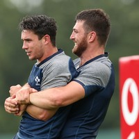 Kleyn primed for Ireland debut, Carbery takes 10 shirt for Italy warm-up