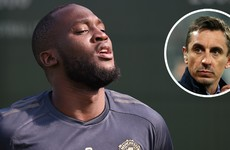 'Unprofessionalism is contagious' - Neville criticises Lukaku ahead of expected Man United departure