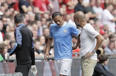 City's Sane ruled out for months with cruciate ligament tear - reports