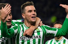 Tottenham sign Real Betis midfielder on loan with view to a €60 million transfer