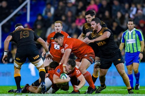 O'Donnell in Super Rugby action for the Sunwolves.