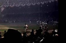 WATCH: Colour footage of the 1939 World Series