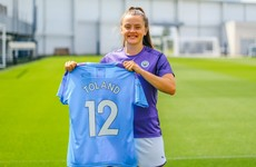18-year-old Ireland midfielder Toland seals dream move to Manchester City
