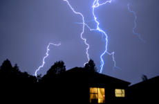 Cork man says rubber clogs 'probably saved my life' after lightning destroys house roof