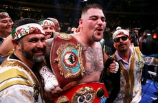 Saudi Arabia chosen to host Ruiz Jr versus Joshua rematch in December