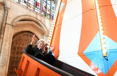 Criticism after Norwich Cathedral installs helter skelter in the centre of the church