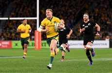 Cheika's Wallabies stun All Blacks with six-try win in Perth