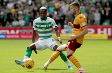 Celtic recover from early error to crash five past Motherwell