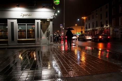 File photo. There's a wet evening in store across the country.