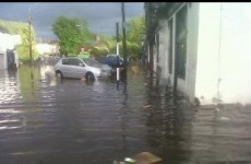 """Flash flooding in Cork after 30 minute """"scary"""" downpour"""