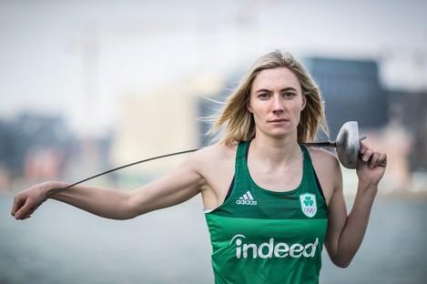 Ireland's Natalya Coyle.