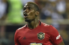 Paul Pogba insists he's happy at Manchester United