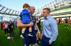 Leavy staying busy away from rugby after two major knee operations