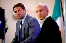 Hearn dismisses 'sportswashing' concerns over Ruiz-Joshua rematch in Saudi Arabia
