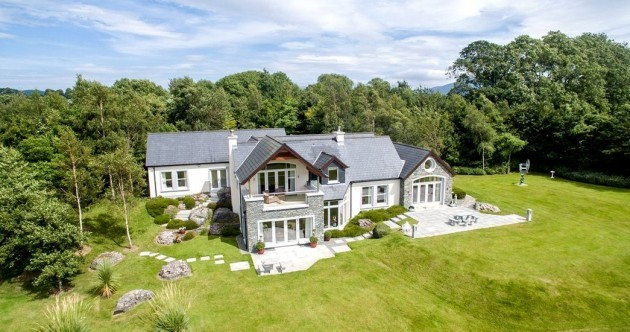 Move mountains at this €1.6m lakeside home with views of MacGillycuddy's Reeks
