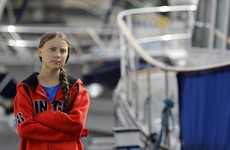 Teen climate activist Greta Thunberg sets sail for New York on a zero-emissions yacht