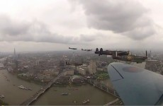 VIDEO: How London looked from a Spitfire plane during Queen celebrations