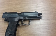 Gun seized as gardaí arrest man in his 20s in Kildare