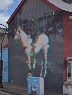 Planning battle after tenant told he needs permission for Smithfield's Horseboy mural