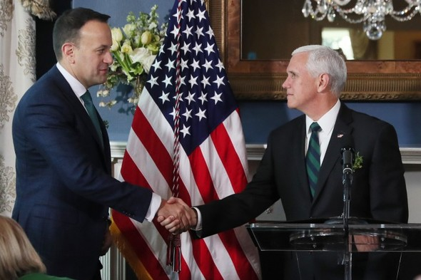 Mike Pence will back the Good Friday Agreement when he visits Ireland next month