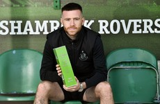 Outstanding European efforts see Jack Byrne claim second LOI player-of-the-month award