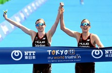 British duo disqualified from Olympic qualification race for crossing line together