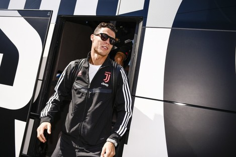 Cristiano Ronaldo (file pic).