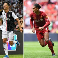 Virgil van Dijk included on three-man shortlist for Uefa Player of the Year