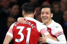 Ozil and Kolasinac could make Arsenal returns this weekend
