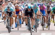Boasson Hagen wins 3rd stage, Wiggins retains lead