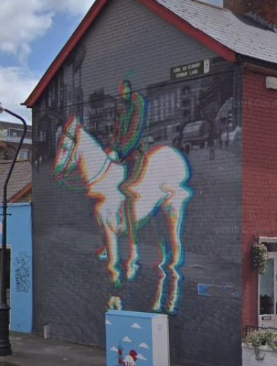 'We'd obviously like to see the piece remain': Artists petition to retain Smithfield's Horseboy mural