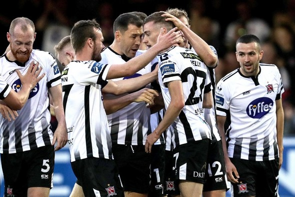Free-scoring Dundalk smash five past Finn Harps to bounce back from Europa League exit
